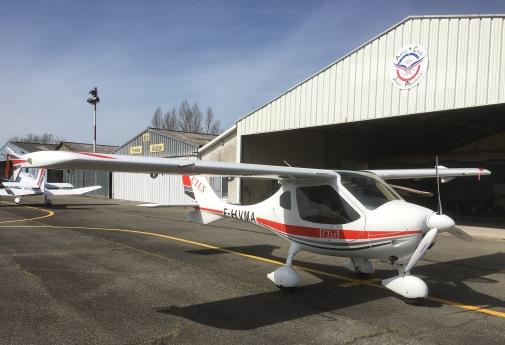 Avion CTLS F-HVMA
