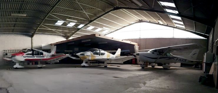 Panoramique hangar